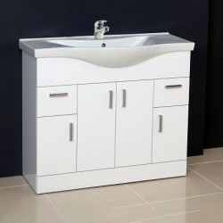Ardent Vanity Unit Cabinet with Basin 1000 mm